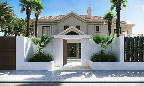 7 Sovrum7, Badrum Villa Till Salu i Marbella Club Golf Resort, Benahavis