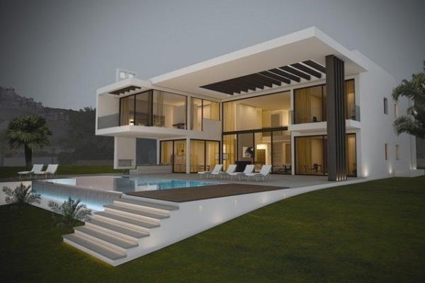 5 Sovrum5, Badrum Villa Till Salu i La Quinta Golf, Benahavis