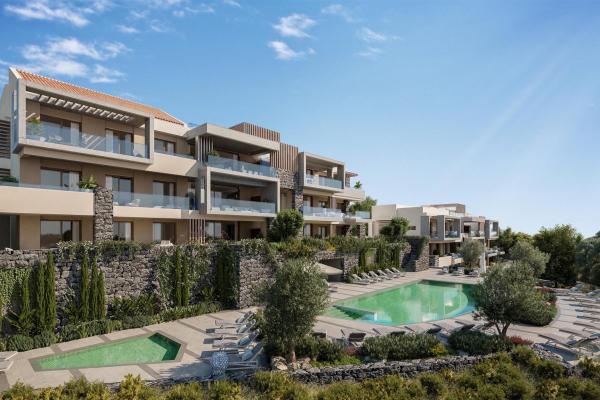 2 Sovrum2, Badrum Lägenhet Till Salu i Real de la Quinta, Benahavis