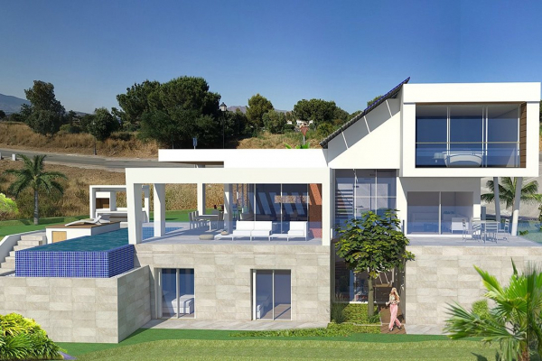 3 Sovrum, 3 Badrum Villa Till Salu i Green Village, Mijas
