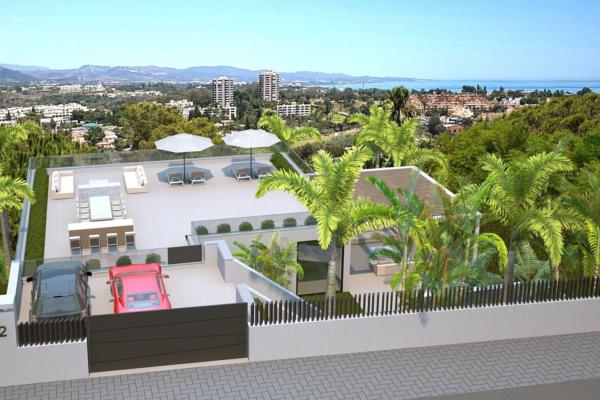 5 Sovrum5, Badrum Villa Till Salu i Marbella