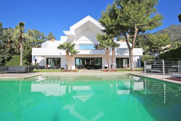 6 Sovrum, 5 Badrum Villa Till Salu i Marbella Golden Mile
