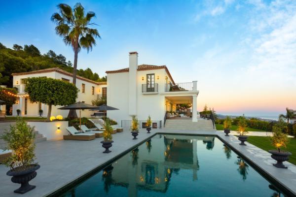 6 Sovrum, 7 Badrum Villa Till Salu i Sierra Blanca, Marbella